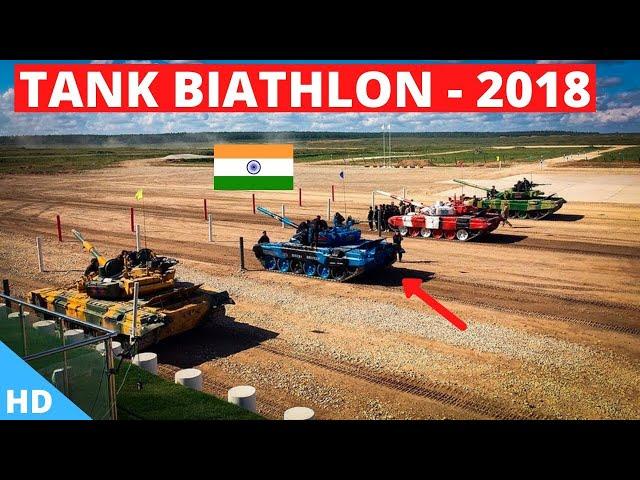 🇮🇳INDIA Tank Biathlon 2018 'Semi Finals' : International Army Games 2018