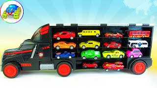 Wash Dirty Cars, Big Cars, Small Cars - Car Toys Kid - Kid Studio