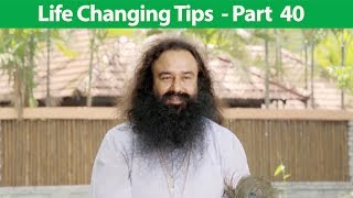 Life Changing Tips Part 40 | Saint Dr MSG Insan