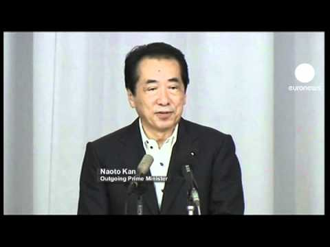 Japan's Prime Minister Naoto Kan resigns