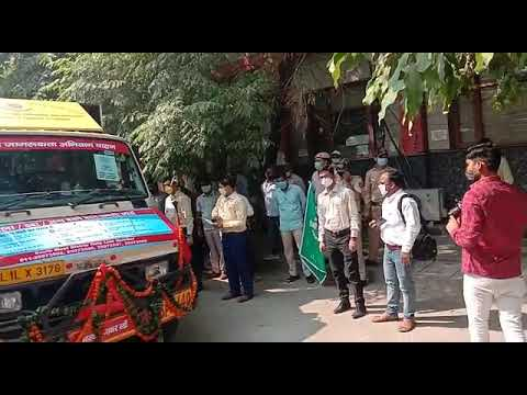 Corona infection to be removed from everyone's participation – DM Dr Navin Aggarwal leaves Covid Awareness vehicle