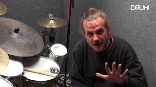 Hard Rock Drum Lesson: Double Bass Fills