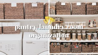 Pantry/Laundry Room | Tour + Organization | StephanieWeiss