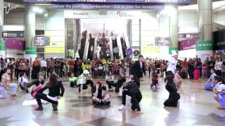 Flashmob at KL Sentral by RJVN & Friends