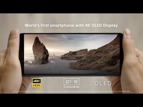 Xperia 1 – Own the World's first smartphone with a 4K OLED display*