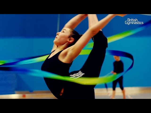 GB rhythmic junior gymnasts ready for 2017