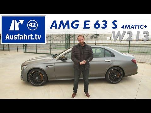 2016 Mercedes-AMG E 63S 4MATIC+ (W213) - Fahrbericht der Probefahrt, Test, Review Ausfahrt.tv