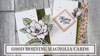 Partial Die Cutting Technique - Magnolia Cards