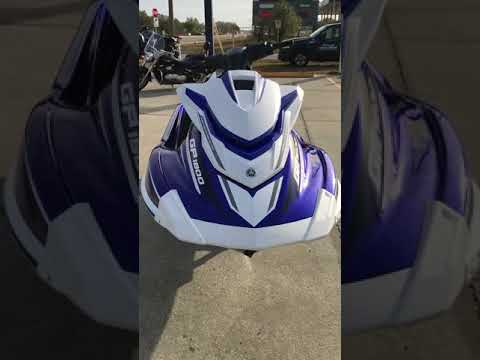 2018 Yamaha GP1800 in Orlando, Florida - Video 1