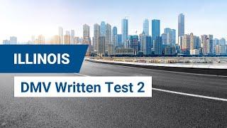 2020 Illinois DMV Written Test #2