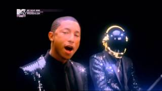 Daft Punk ft. Pharrell Williams - Get Lucky (Official MTV Video)