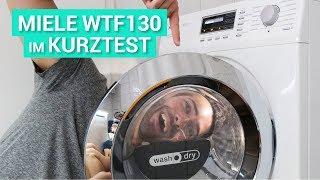 Miele Waschtrockner WT1 (WTF130) mit Connect Modul XKM 3100W im Kurztest!