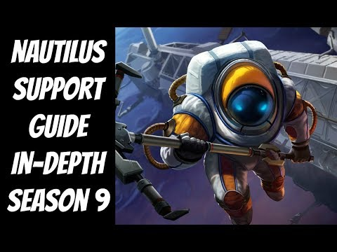 Nautilus Guide In-Depth -- The Strategy Professor -- League of Legends