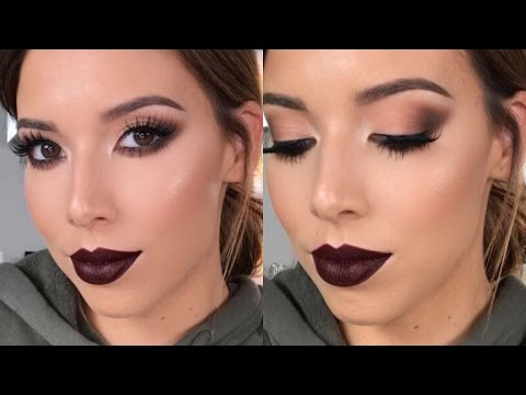 GET READY WITH ME: SMOKEY CAT EYES | LUSTRELUX
