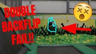 DOUBLE BACKFLIP FAIL!! (landed On My Head)