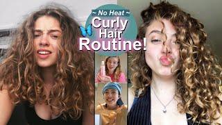 No-Heat Curly Haircare Routine 2020!! Vegan + Cruelty Free 😌