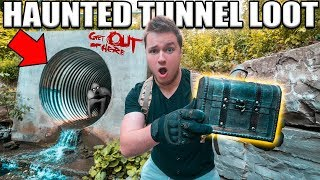 Exploring Abandoned Tunnel For THE RAKE