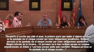 preview picture of video 'Ayuda de material en Aldaia, ¿PARA TODOS?'