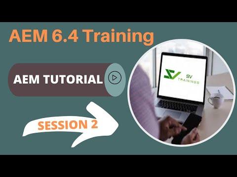 AEM 6.4 Online Training For Beginners   Adobe AEM Training Day 2 ...