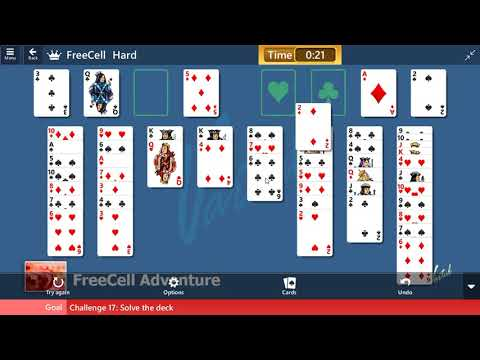 FreeCell Adventure #17 | June 20, 2019 Event