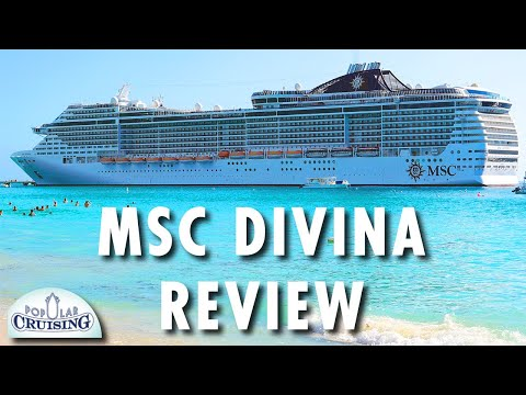 MSC Divina Tour & Review ~ MSC Cruises ~ Cruise Ship Tour & Review