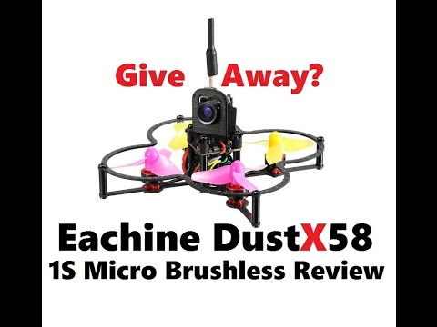 Eachine DustX58 FrSky BnF Brushless Micro - Overview