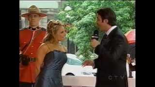 Trish Stratus Walk of Fame Red Carpet interview