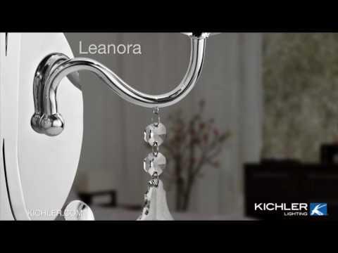 Video for Leanora Chrome Nine-Light Chandelier
