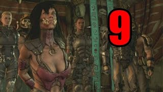 Mortal Kombat X Story Mode Pt.9 -  KISS OF DEATH!