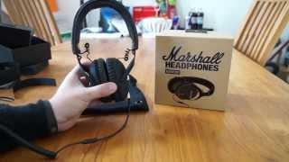 Unboxing - Marshall Headphone Monitor [german | deutsch]