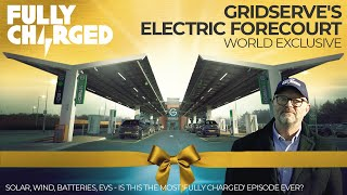GRIDSERVE's Electric Forecourt WORLD EXCLUSIVE | 100% Independent, 100% Electric