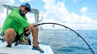 Fighting a 1000+lb Monster Sawfish for Hours