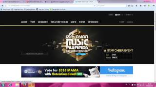 TUTORIAL VOTE BTS(BANGTAN BOYS) IN MAMA 2016