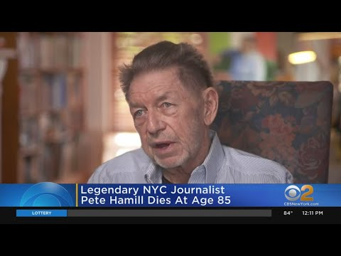 Pete Hamill, Legendary New York Newspaper Columnist, Dies At 85