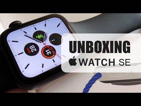 Unboxing Apple Watch SE 2020