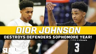 Dior Johnson DESTROYS defenders! PG gets SHIFTY for Quavo and Ja Morant 😈