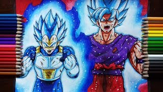 Drawing Goku & Vegeta