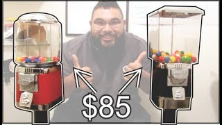 $85 gumball machine to start your home business