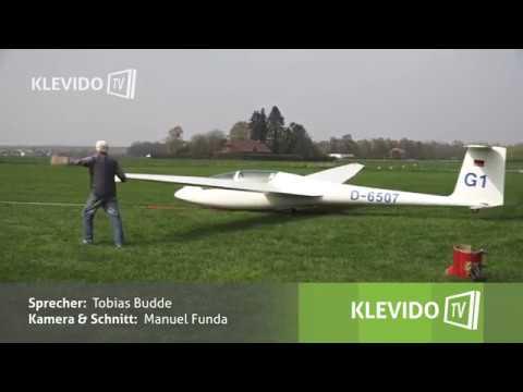 Wie kommt ein Segelflugzeug in die Luft?