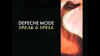 Depeche Mode What's Your Name? (not live) [Speak&Spell]