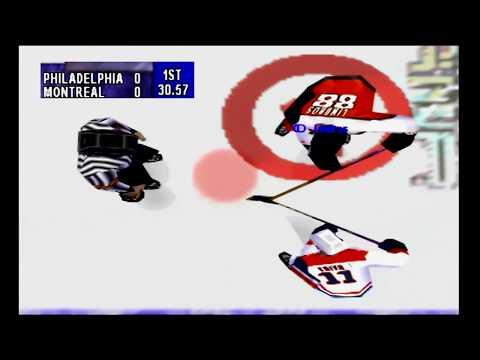 NHL Breakaway 98 (N64) Flyers vs Canadiens