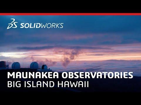 Maunakea Observatories - SOLIDWORKS