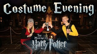 HARRY POTTER COSTUME EVENING! (Warner Bros. Studio Tour London)