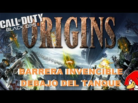 Truco Black Ops 2 Zombies ORIGINS Barrera Invencible debajo del Tanque - By ReCoB