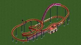 RCT2 - Ride overview - Giga Coaster