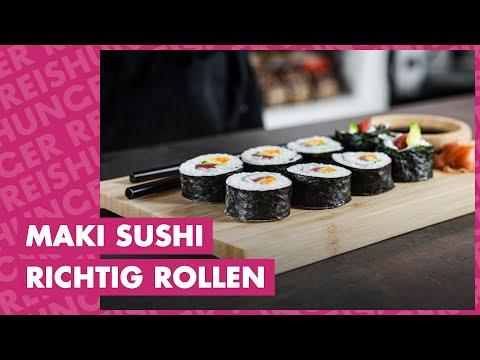mit Easy Sushi Maker /Ø 3,5 cm perfekt auch als Geschenk Inside-Out und Nigiri Sushi zu Hause zubereiten Maki Reishunger Sushi Equipment Box