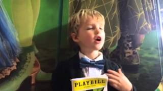 Iain reviews Wicked (Broadway) 10/29/2014