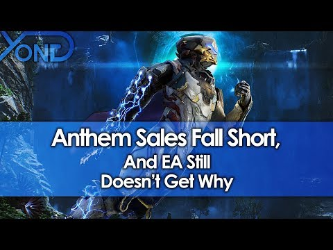 Anthem Sales Fall Short, And EA Still Doesn't Get Why