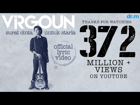 , title : 'Virgoun - Surat Cinta Untuk Starla (Official Lyric Video)'