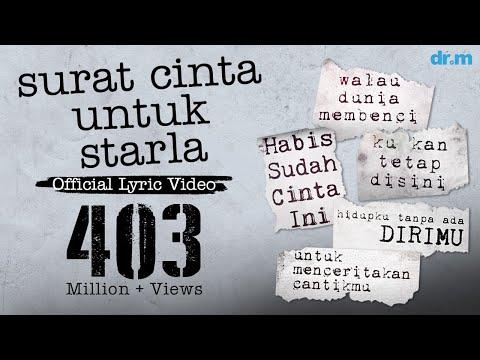 Virgoun - Surat Cinta Untuk Starla (Official Lyric Video)